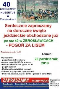Hubertus Plakat