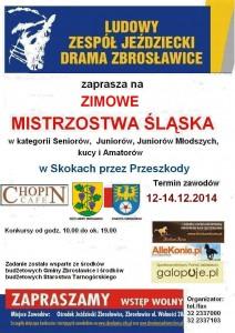 plakat Mistrzostwa Śląska